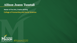 Graduation Slide for Allison Joann Tunstall