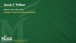 Graduation Slide for Jacob C Wilbur