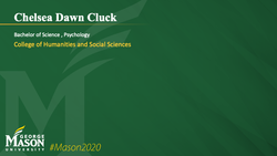 Graduation Slide for Chelsea Dawn Cluck