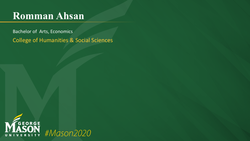 Graduation Slide for Romman Ahsan