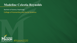 Graduation Slide for Madeline Celestia Reynolds