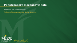 Graduation Slide for Panatchakorn Rochanavibhata
