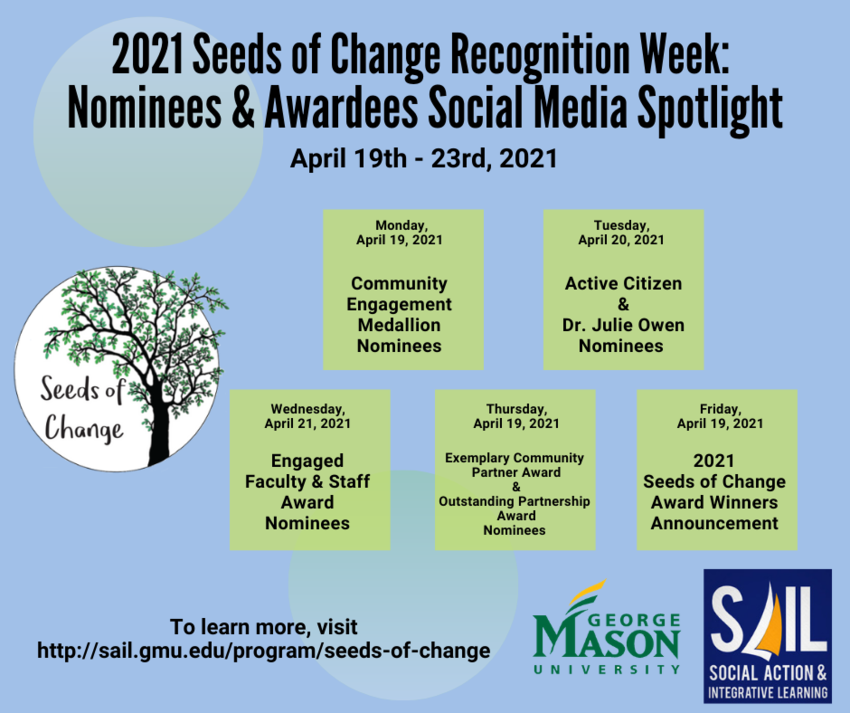2021 Seeds of Change Social Media Spotlight Campaign