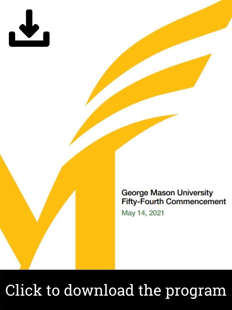 Mason Commemorative Commencement Program