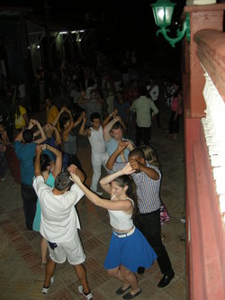 Dancing in the streets, Baracoa