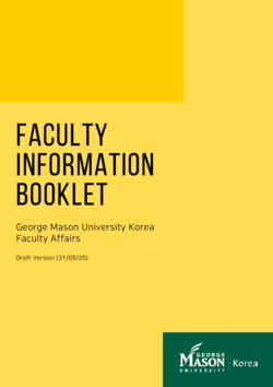 Faculty Information Booklet