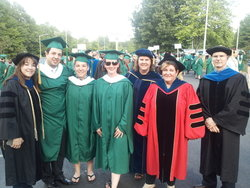 CLS Faculty and Graduate Students at Commencement