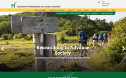College of Humanities and Social Sciences homepage.
