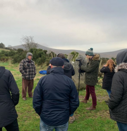 Folklore students taking part in the Ireland Field School 2020